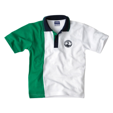 Picture of Contrast collar & Pocket polo