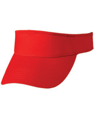 Picture of Winning Spirit - CH49 - Polo Twill Visor With Or Without Sandwich, Crossover Velcro
