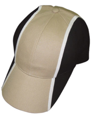 Picture of Winning Spirit - CH83 - Heavy Brushed Cotton Tri-colour Baseball Cap