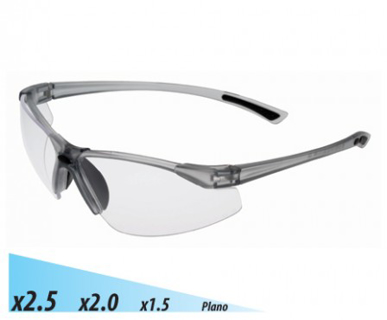 Picture of VisionSafe -101CL-1.5 - Clear Hard Coat Safety Glasses