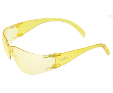 Picture of VisionSafe -212YWAR - Amber Hard Coat Safety Glasses