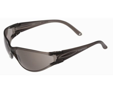 Picture of VisionSafe -090GYSD - Smoke Hard Coat Safety Glasses