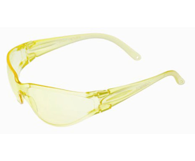 Picture of VisionSafe -090YWAR - Amber Hard Coat Safety Glasses