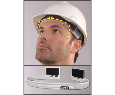Picture of VisionSafe -SG HA1 - Hard Hat Attachment SWEAT GUTR