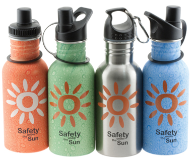 Picture of VisionSafe -DB500BL - STAINLESS STEEL DRINK BOTTLE