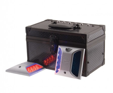 Picture of VisionSafe -DF6RD BL - DURO-FLASH Lights in Recharging Case