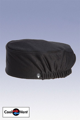 Picture of Chef Works - DFAO-BLK - Black Total Vent Beanie