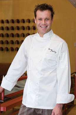 Picture of Chef Works - ECCA - Carlton Egyptian Cotton Chef Coat