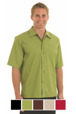 Picture of Chef Works - C100-LIM - Lime Café Shirt