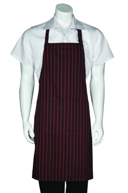 Picture of Chef Works - A600-BLK - Black Waffle Weave Bistro Apron