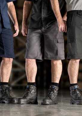 Picture of Syzmik - ZW012 - Mens Drill Cargo Short