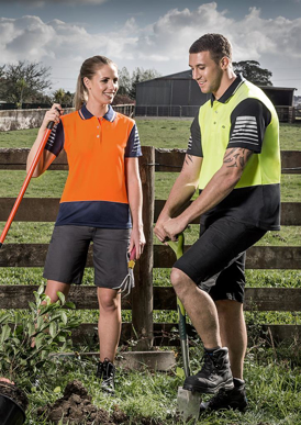Picture of Syzmik - ZHL236 - Womens Hi Vis Zone Polo