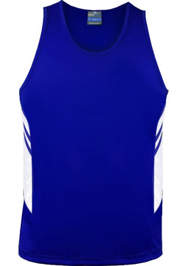 Picture of Aussie Pacific - 1111-Tasman Mens Singlet Shirts