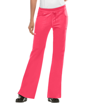 Picture of CHEROKEE-CH-24001-Cherokee WorkWear Junior Flare Drawstring Scrub Pants