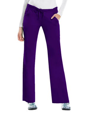 Picture of CHEROKEE-CH-1066P-Cherokee Luxe Women Four Pocket Petite Scrub Pants