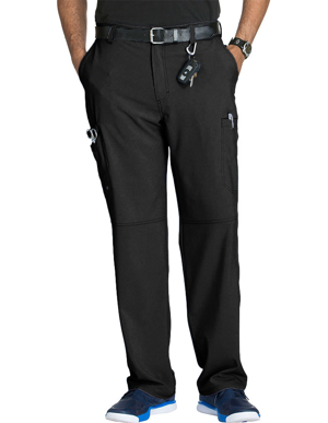 Picture of CHEROKEE-CH-CK200AT-Cherokee Infinity Mens Antimicrobial Fly Front Cargo Tall Pant