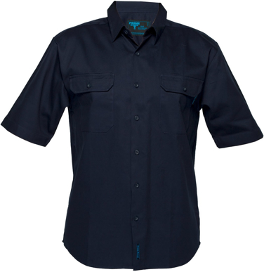 Picture of Prime Mover-MS905-Short Sleeve Business Shirt