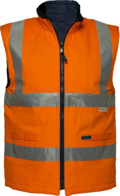 Picture of Prime Mover-MV278-100% Cotton Reversible Vest