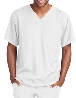 Picture of Skechers Scrubs-SK0112-Mens Structure V-neck scrub top