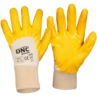 Picture of DNC Workwear-GN31-Orange Nitrile Dip