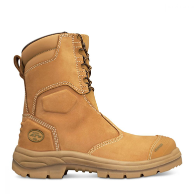 Picture of Oliver Boots-55-385-200MM HI-LEG WHEAT ZIP SIDED BOOT