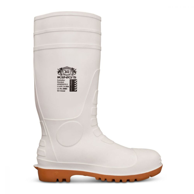 Picture of Oliver Boots-10-110-King's White Safety Gumboot