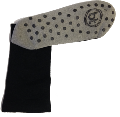 Picture of Bamboo Textiles-BAWITHwithSIRCULATION HEALTH SOCKS - WITH-Charcoal Circulation Health Socks - with grips