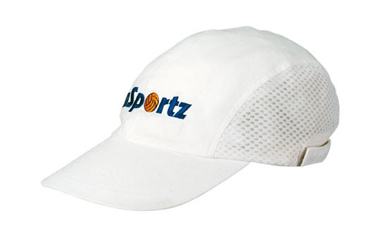 Picture of Headwear Stockist-3812-Cotton sports cap - mesh sides