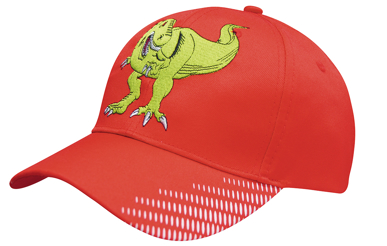 Picture of Headwear Stockist-4007-Breathable Poly Twill with Peak Flash Print