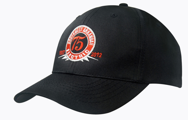 Picture of Headwear Stockist-4012-Breathable Poly Twill Cap