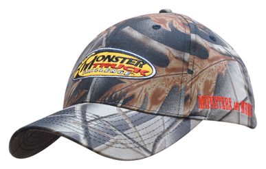 Picture of Headwear Stockist-4028-Leaf Print Camouflage Cotton Twill