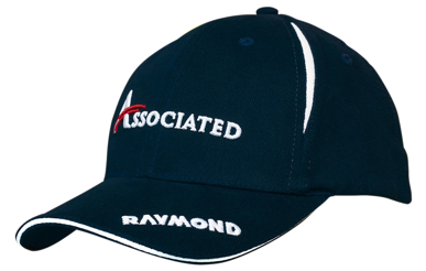 Picture of Headwear Stockist-4092-Brushed Heavy Cotton with Crown Inserts & Sandwich