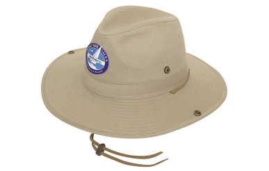 Picture of Headwear Stockist-4275-Safari Cotton Twill Hat