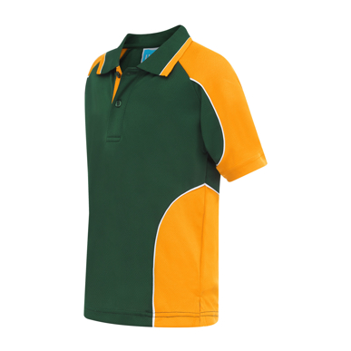 Picture of LW Reid-5912SB-Dutton Round Panel Sports Polo