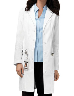 Picture of Cherokee Uniforms-CH-2319-Cherokee Womens 36 Inches Two Pocket Medical Lab Coat