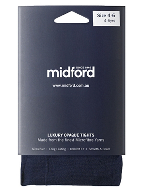 Picture of Midford Uniforms-TIG900-LADIES MICROFIBRE TIGHTS (T900L)