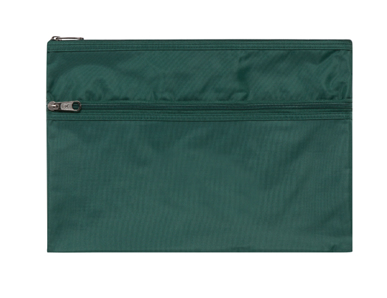 Picture of Midford Uniforms-BAG23-PENCIL CASE 2 ZIPS(MB23)