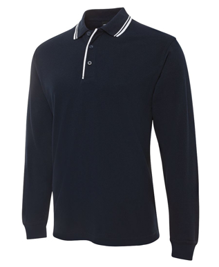 Picture of JBs Wear-210XC-JB's L/S CONTRAST POLO