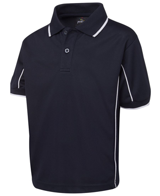 Picture of JBs Wear-7PIPS-PODIUM KIDS S/S PIPING POLO