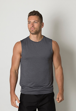 Picture of Be seen-BKTT425- Mens Sleeveless tank top