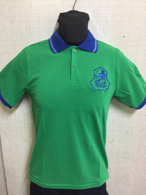 Picture of Maryborough West State School - Sports Polo Green