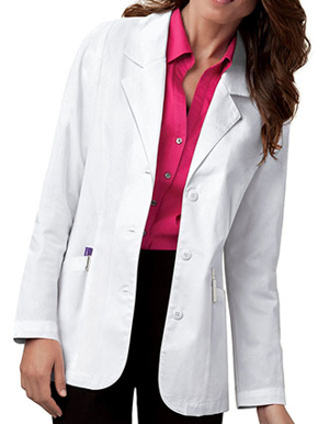 Picture of Cherokee-CH-348-Cherokee Women 30 Inches Two Pocket Short Medical Lab Coat