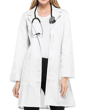 Picture of Cherokee-CH-2410-Cherokee Womens Two Pocket 36 Inches Long Medical Lab Coat