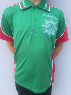 Picture of Sandy Strait School Red Sports Polo