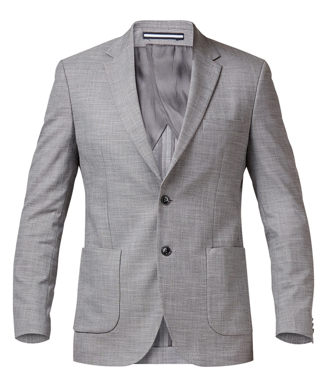 Picture of NNT Uniforms-CATB94-GRY-Half Lined Jacket