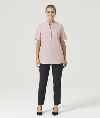 Picture of NNT Uniforms-CATUGA-RED-Short Sleeve Tunic
