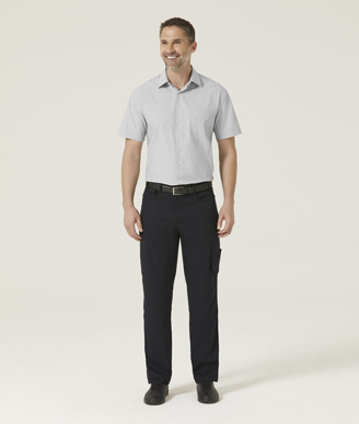 Picture of NNT Uniforms-CATJB7-GRY-Short Sleeve Shirt