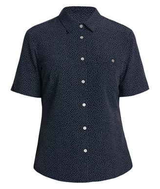 Picture of NNT Uniforms-CATU7H-NAV-Short Sleeve Shirt