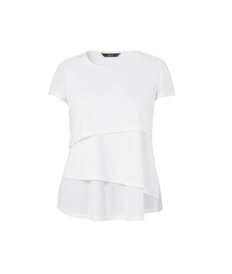 Picture of NNT Uniforms-CAT9XG-WHP-Short Sleeve Layered Top