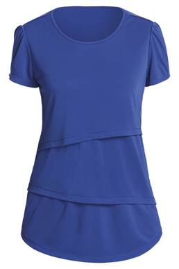 Picture of NNT Uniforms-CAT9XG-COP-Short Sleeve Layered Top